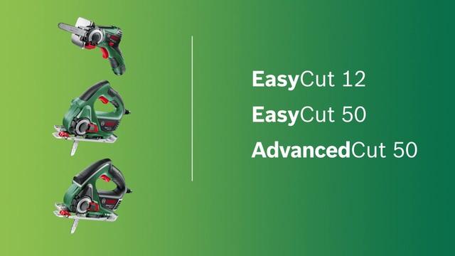 EasyCut 12, EasyCut 50, AdvancedCut 50 Video 3
