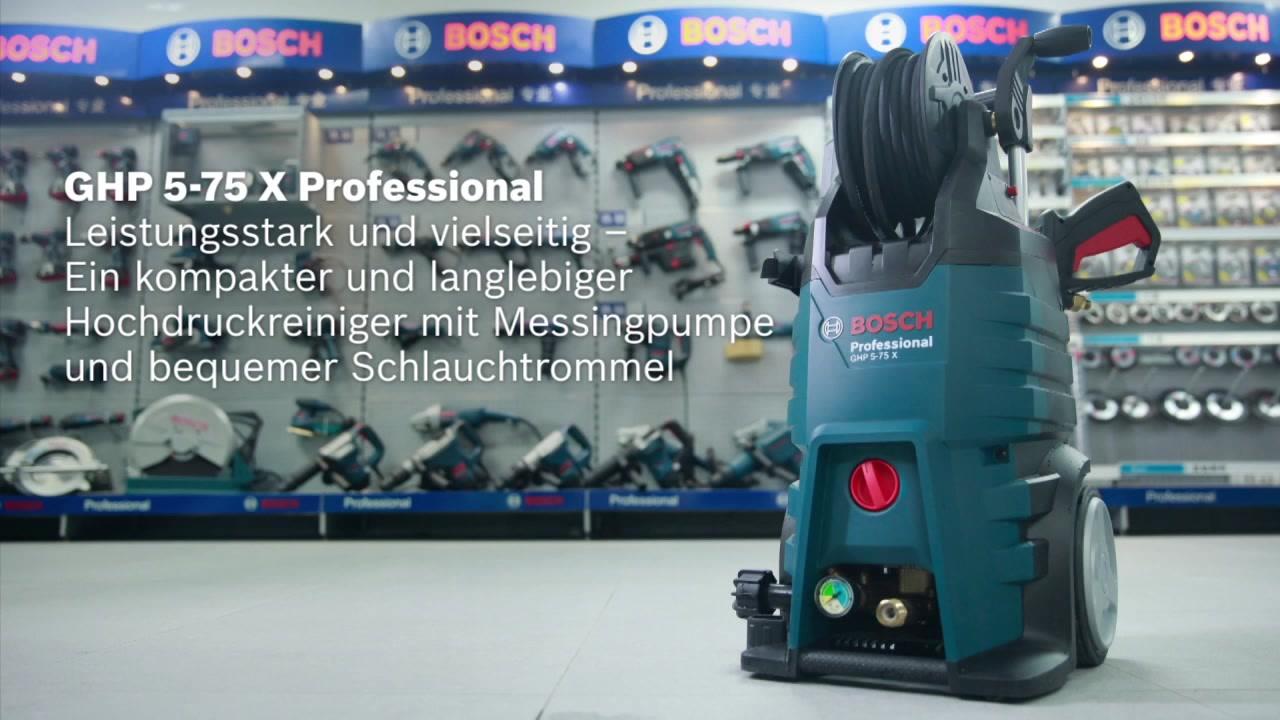 Bosch Laser Entfernungsmesser Bluetooth : Ghp 5 75 x hochdruckreiniger bosch professional