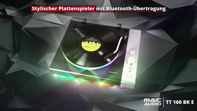 Mac Audio - TT 100 BK E Plattenspieler Video 3