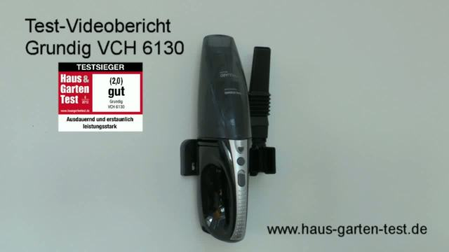 Grundig - VCH 6130 Akkusauger Video 3
