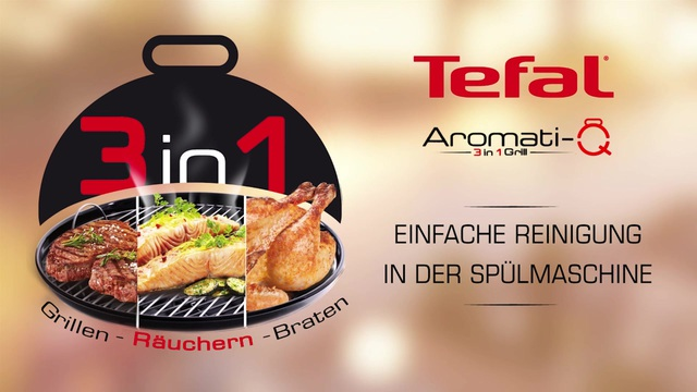 Tefal - Aromati-Q 3in1 Tischgrill (Reinigung) Video 16