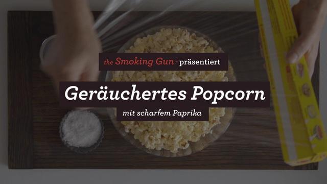Sage - Breville Smoking Gun - Geräucherter Popcorn Video 6