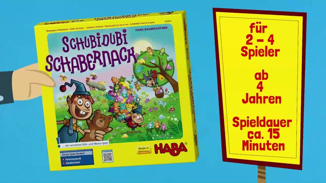 HABA Schubidubi Schabernack (Anleitungsvideo) deutsch