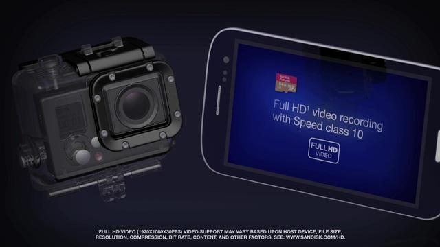 SanDisk - Extreme microSDHC / microSDXC Video 5
