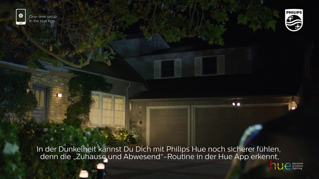 """Philips - Hue - """"zuhause & abwesend""""-Routine Video 13"""