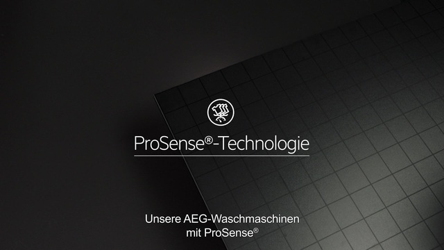AEG - ProSense Technologie - Doppelt effektive Pflege Video 14