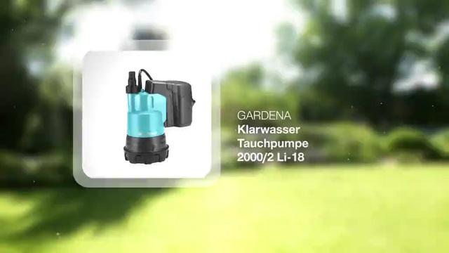 Clear Water Submersible Pump  2000/2 Li-18 Video 3