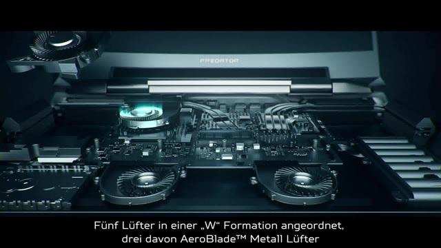 Acer - Predator 21 X - Design Story Video 26
