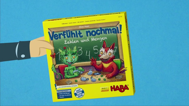 HABA Verfühlt nochmal Zahlen DE