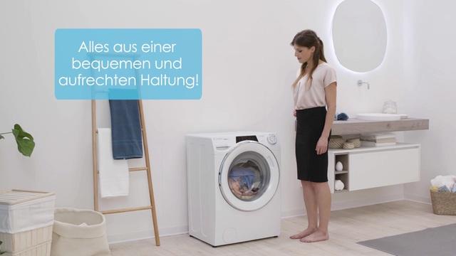 Candy - Rapid'O Waschmaschine Video 8