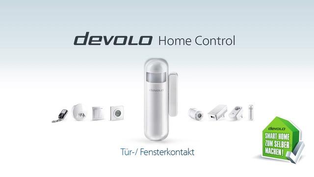 Devolo - Home Control - Tür-/Fensterkontakt Video 3