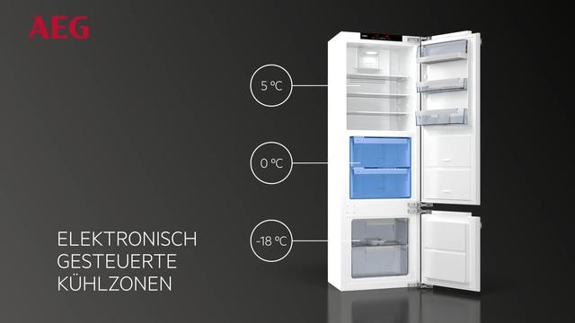 Aeg Kühlschrank Festtür Montage : Aeg ske zc einbau kühlschrank l a kwh jahr cm