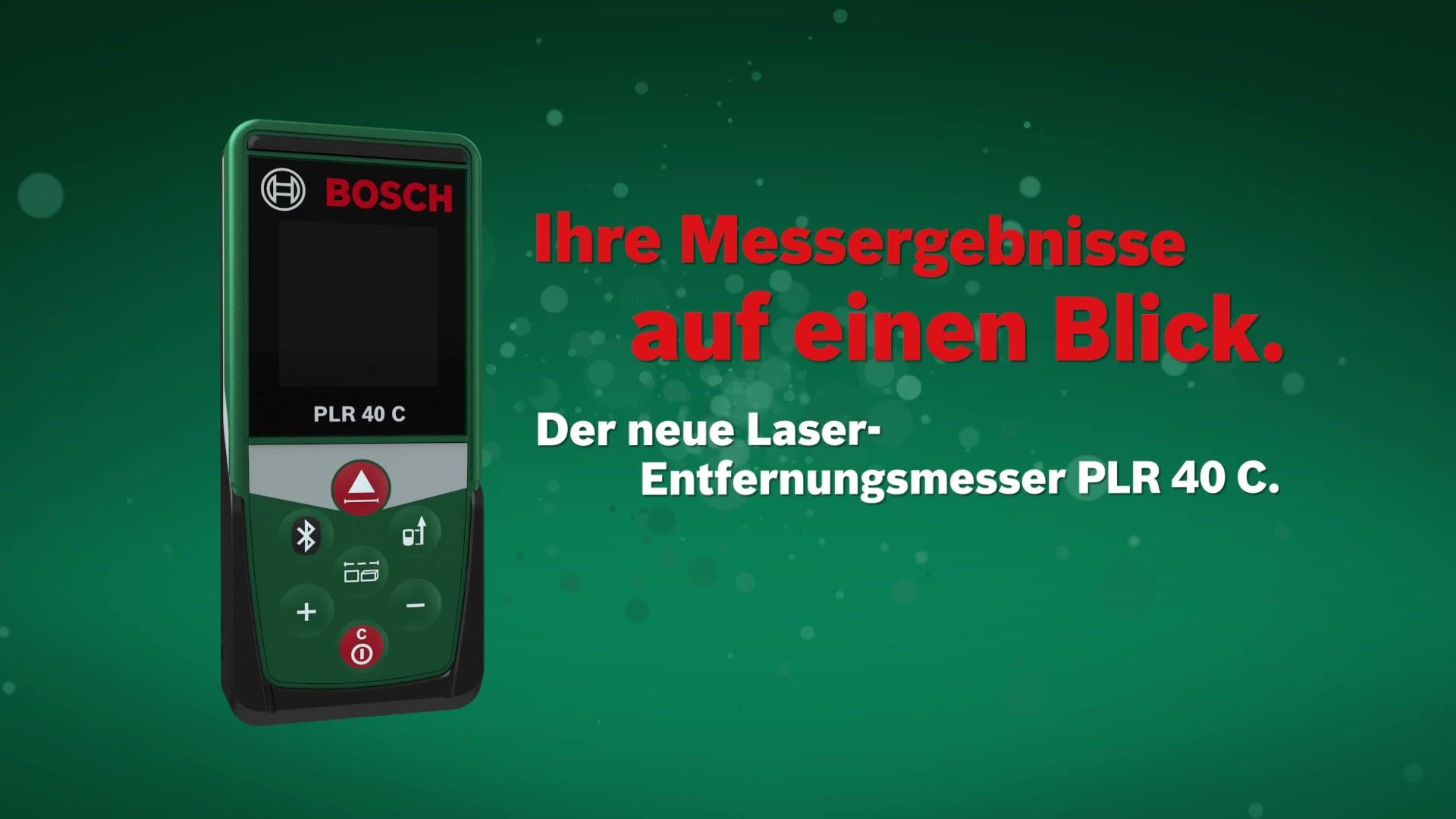 Bosch Digitaler Laser Entfernungsmesser Plr 30 C : Bosch laser entfernungsmesser plr c« hagebau