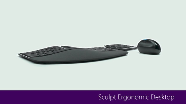Sculpt Ergonomic Desktop_Produktvideo Video 12