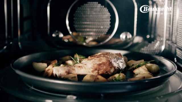 Bauknecht - Knuspriges Hähnchen aus der Mikrowelle Video 8
