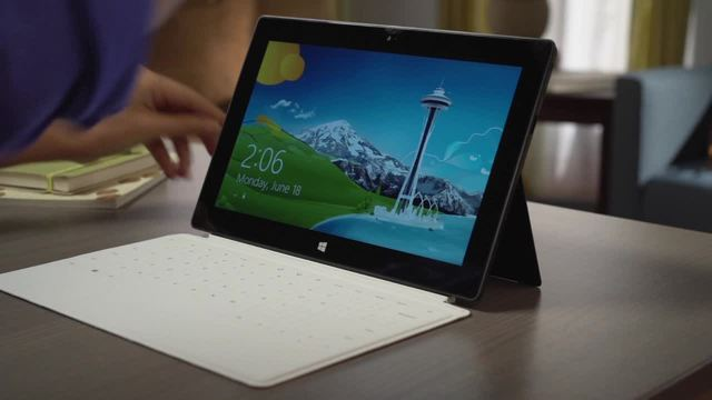 Surface Touch & Type Cover Video 14