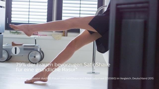 Philips SatinShave BRL170/00 Video 3