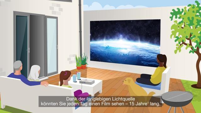 Epson - Beamer - Entertainment für die kommenden Jahre Video 14
