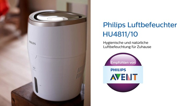 Philips Luftbefeuchter 2000 Series HU4811/10 Video 3