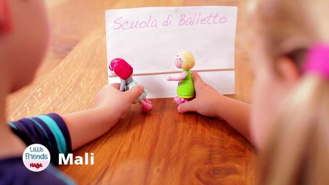 HABA Little Friends Mali (italienisch)