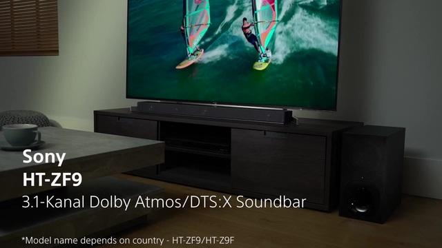 Sony - HT-ZF9 Soundbar Video 3