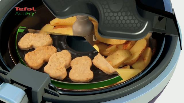 Tefal - ActiFry 2in1 Heißluft-Fritteuse Video 5