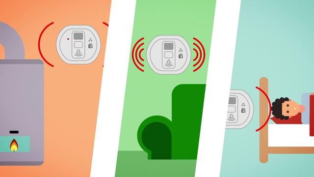 Ei Electronics - Kohlenmonoxid-Warnmelder Video 2