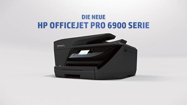 HP - Officejet Pro 6900 Serie Video 3