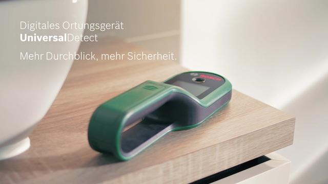 Bosch universaldetect digitales ortungsgerät grün lufthansa
