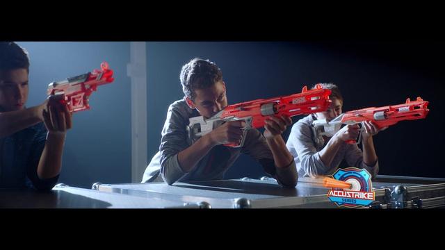 Hasbro - Nerf N-Strike Elite - Accustrike Alphahawk / Falconfire Video 3