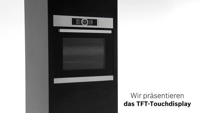Bosch - TFT-Touchdisplay der Bosch Serie 8 Video 8