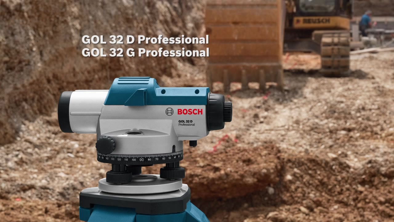 Bosch Professional 0601068400 Nivel /óptico 20xmagnification