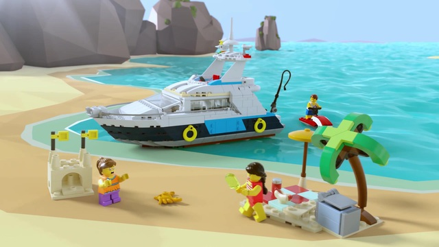 LEGO Creator - Yacht 31083 Video 3