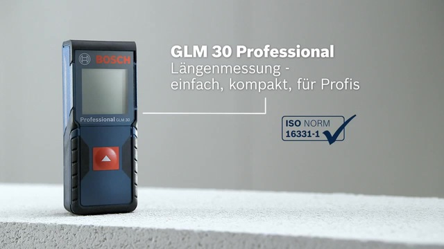 Laser Entfernungsmesser Iso : Bosch glm professional laser entfernungsmesser