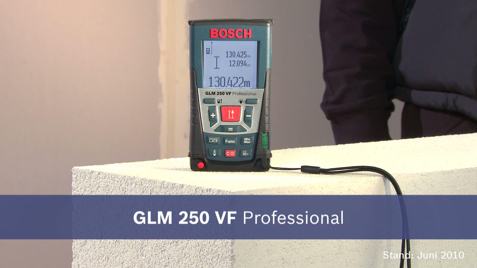 Bosch Entfernungsmesser Mit App : Glm vf laser entfernungsmesser bosch professional