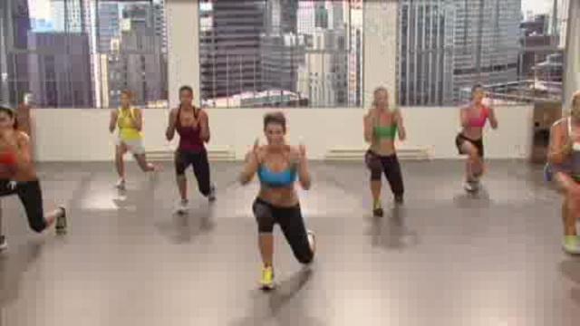 Jillian Michaels Kickbox-Methode Video 2