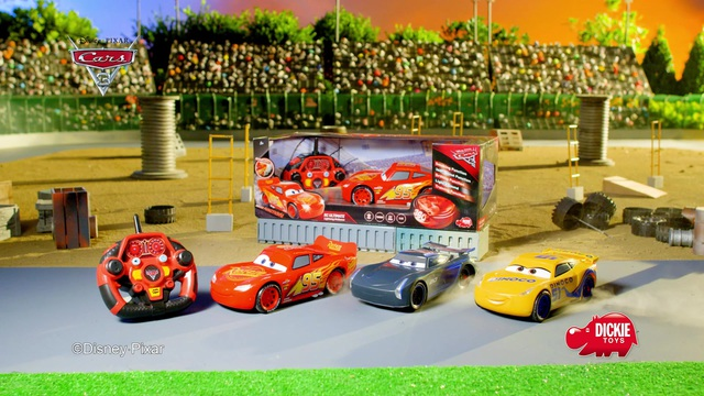 Dickie Toys - Cars 3 Video 3