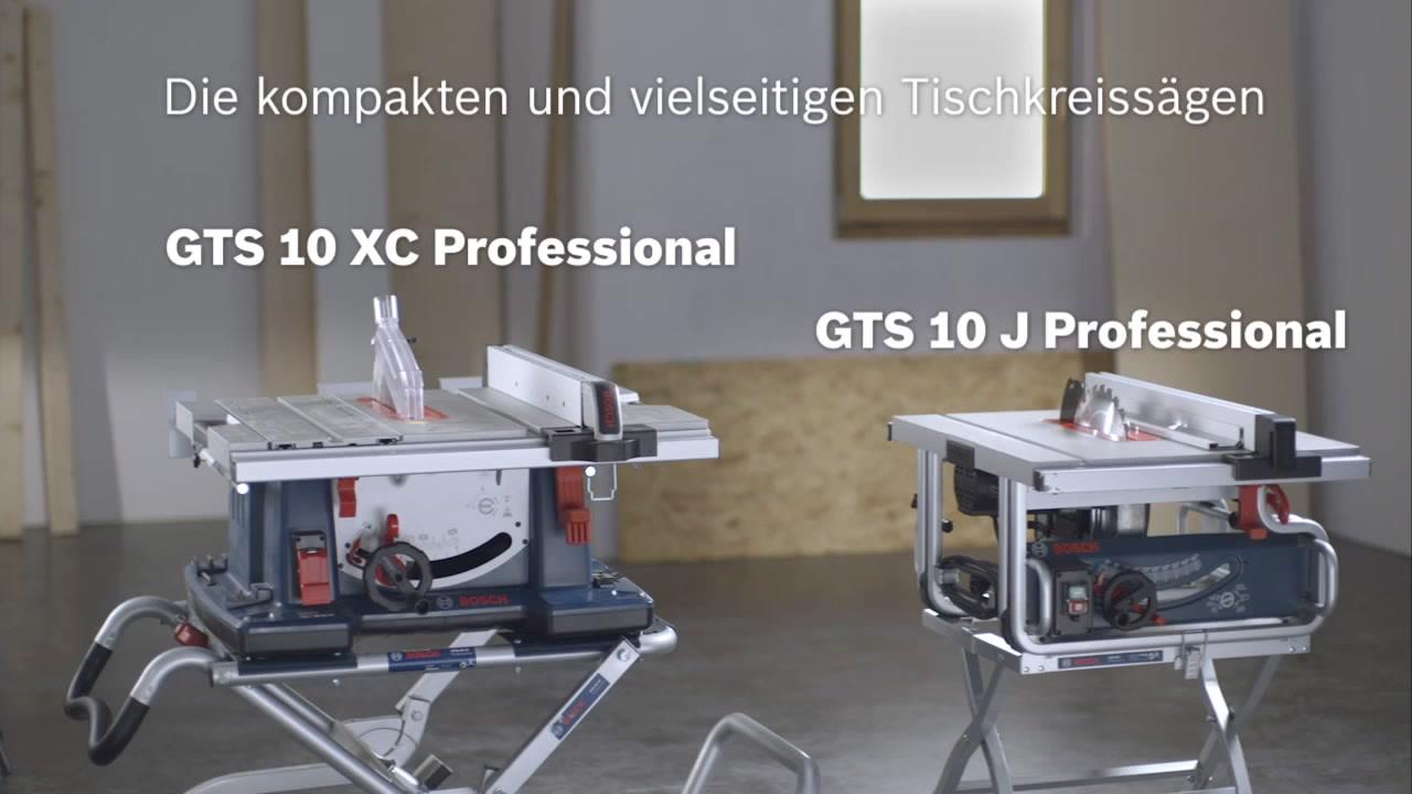 gts 10 xc tischkreissäge | bosch professional