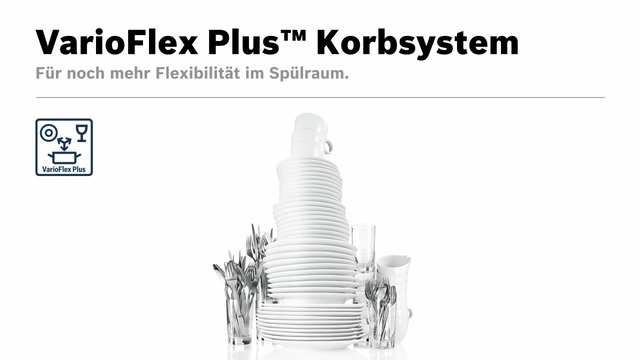 Bosch - VarioFlex Plus Korbsystem Video 14