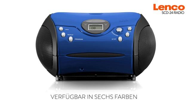 Lenco SCD-24 Radio  Video 3