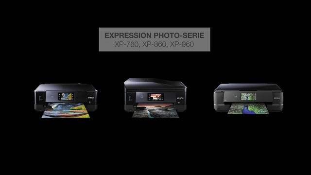 Epson - Expression Photo-Serie (XP-760/860/960) Video 3