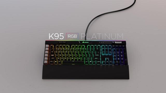 Corsair - K95 RGB Platinum Gaming Tastatur Video 3