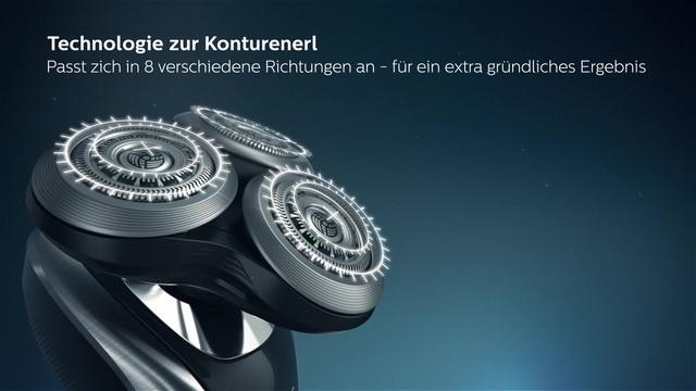 Philips Shaver series 9000 elektrischer Nass- und Trockenrasierer S9711/31 Video 3