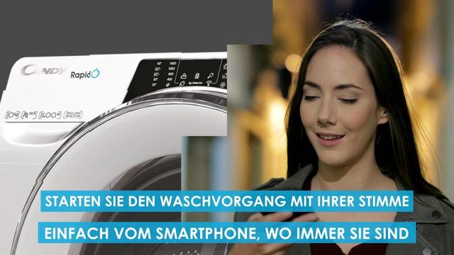Candy - Rapid'O Waschmaschine Video 3