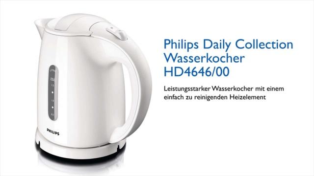 Philips Wasserkocher HD4646/00 Video 2