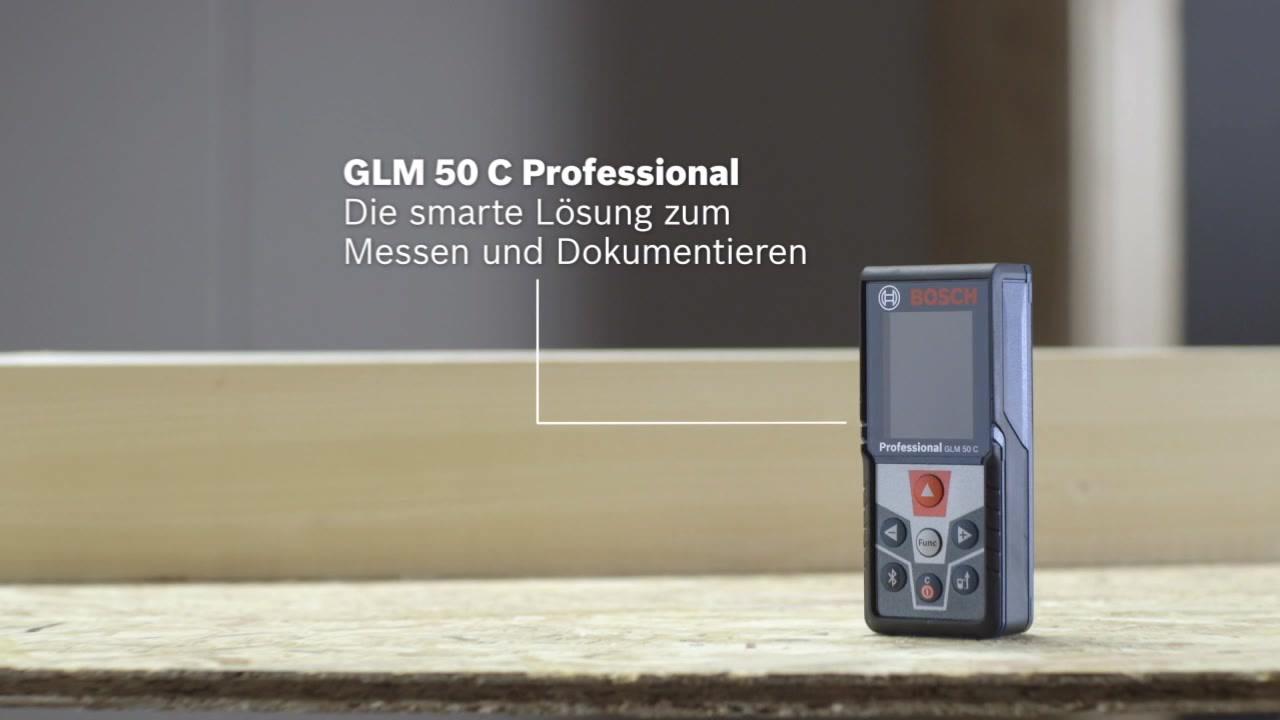 Laser Entfernungsmesser Usb : Glm 50 c laser entfernungsmesser bosch professional