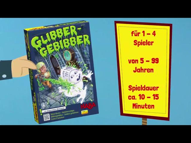 HABA Glibber Gebibber (deutsch) Anleitungsvideo