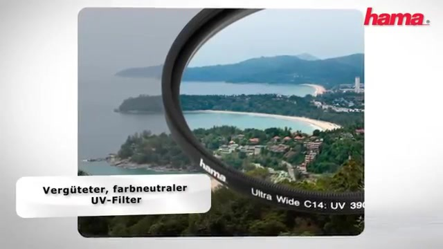 Hama - UV 390 Sperrfilter Video 3