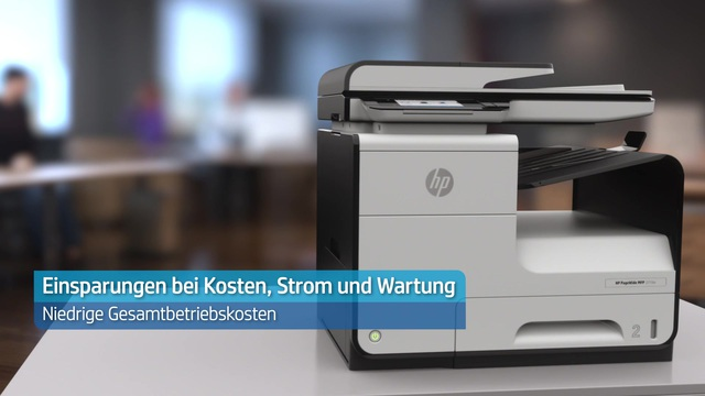 HP - PageWide MFP 377dw Video 3