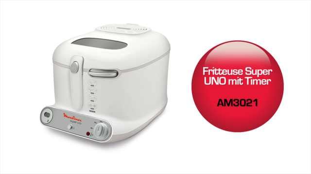 Moulinex - AM3021 Fritteuse Super Uno Video 3